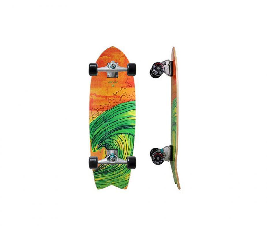 Carver surf skate prancha