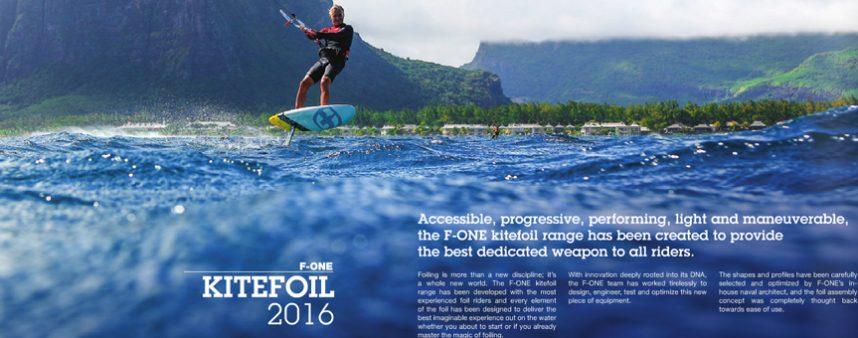 Catálogo Hydrofoil 2016 F-ONE