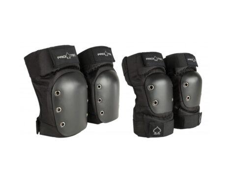 Proteção Skate Joelhos Cotovelos Pro-Tec Kit