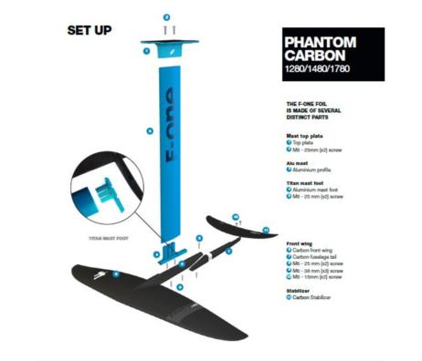 Surf foil Phantom