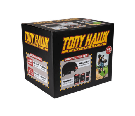 Proteção Skate Crianças Completa Tony Hawk