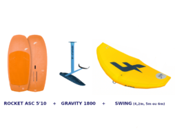 Pack WING SURF FOIL