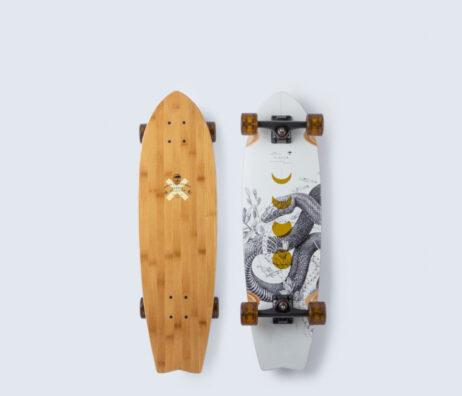 """Cruiser Skate ARBOR Bamboo Sizzler 30.50"""""""
