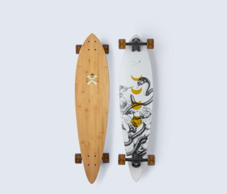 Longboard Skate ARBOR Bamboo Fish 37' skates skate