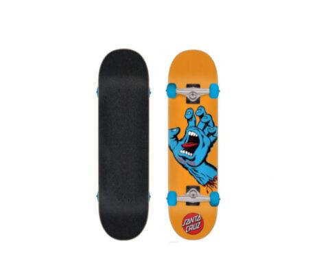"Street Skate SANTA CRUZ Screaming Hand Multi 7.80"" skates skate"