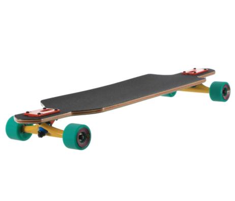 "Longboard SANTA CRUZ Time Warp Drop Thru 36"" skates skate"