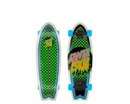 """Cruiser Skate SANTA CRUZ Rad Dot Shark Green 27.70"""" skates skate"""