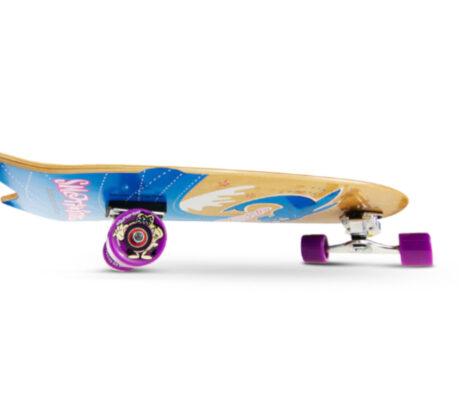 "Surfskate SMOOTHSTAR Flying Fish Blue 32"""