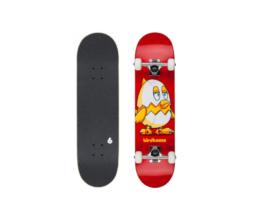 "Street Skate BIRDHOUSE Chicken Mini Red 7.38"""