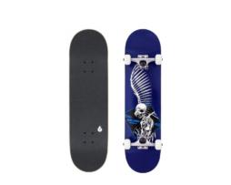 """Street Skate BIRDHOUSE Full Skull 2 Blue 7.5"""" skates skate"""