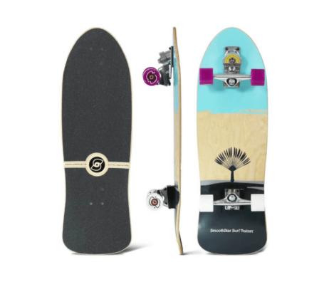 """Surfskate SMOOTHSTAR Johanne Defay Teal/Grey 32.50"""""""