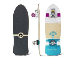 Surfskate SMOOTHSTAR Johanne Defay White/Teal 32.50″