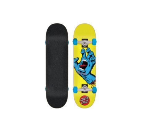 "Street Skate SANTA CRUZ Screaming Hand Mini 7.75"""