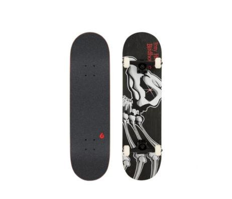 "Street Skate BIRDHOUSE Falcon 1 Black/Red 8.125"""